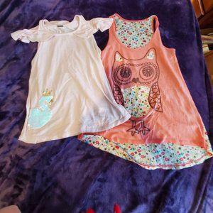 Girls T-shirt bundle, summer